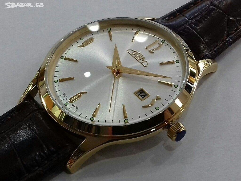 100% nové hodinky Prim 46adf35654