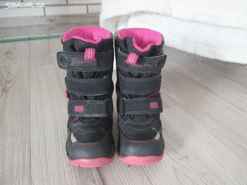 Zimní boty  sněhule Superfit a7c52b072c