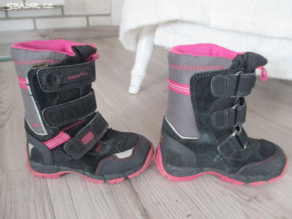 Zimní boty  sněhule Superfit 7150535a0a