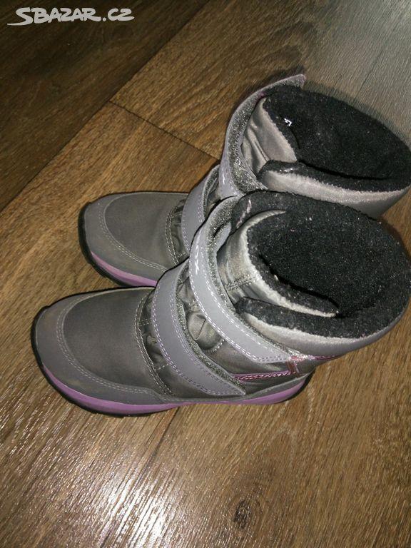 Zimní boty Geox dívčí 27 - Skuteč b48b3c0e32