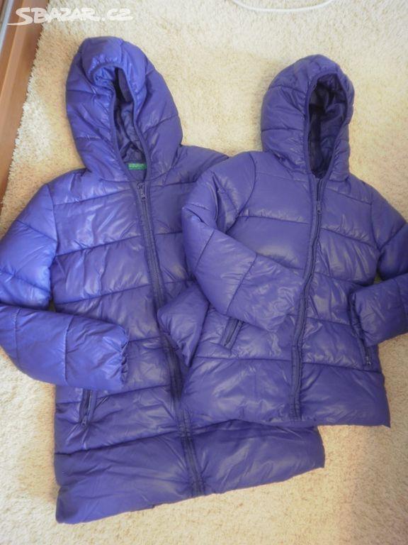 Krásné zimní fialové kabáty-bundy Benetton S+2XL - Olomouc - Sbazar.cz 4ed7e75e76e