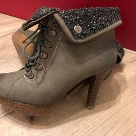 Dámské zimní boty vysoké - Kuřim 3297c78dd1