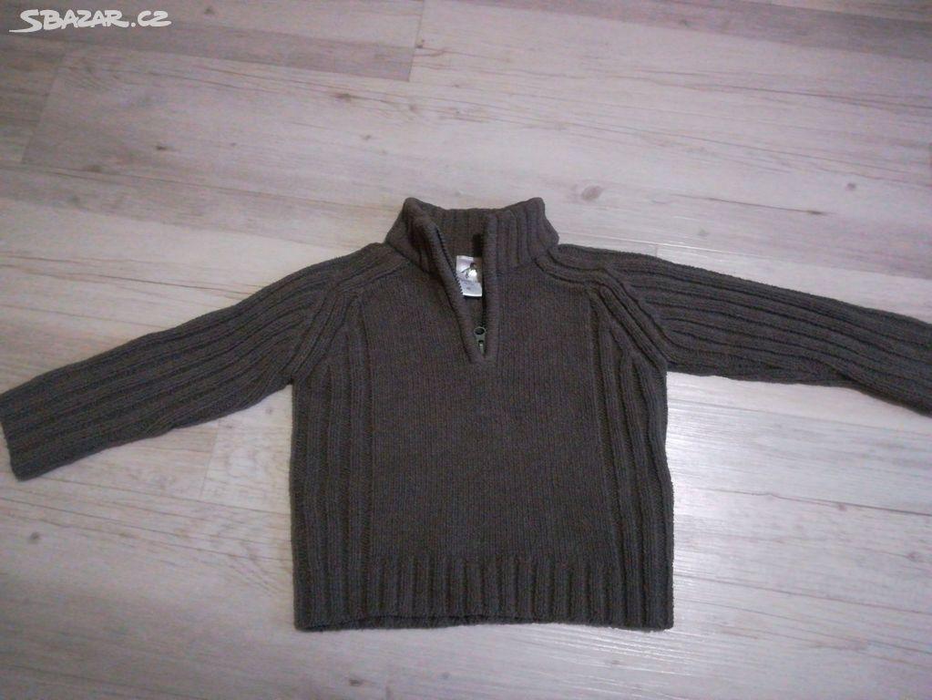 5e680c4fa95 Teplý dětský svetr vel. 92 - Příkazy