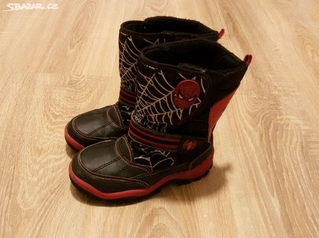 Dětské zimní boty Spiderman. Inzerát byl odebran z oblíbených. 9c80ec99cc