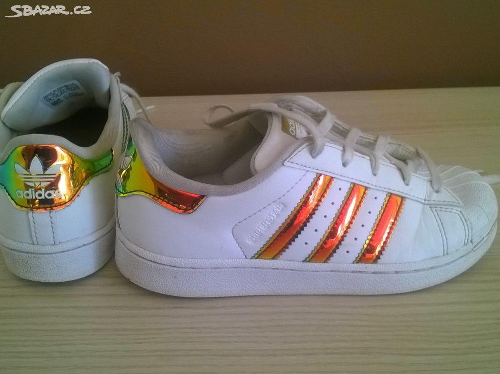 cf5405f31 Dětské boty Adidas Superstar vel. EUR 31 - Liberec - Sbazar.cz