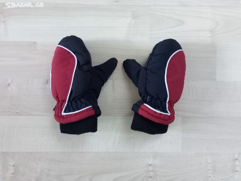 Chlapecké zimní zateplené rukavice - palčáky b922ed3f45