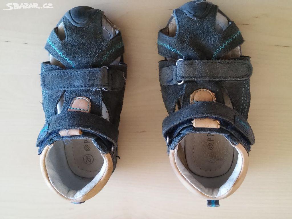 8bc4b7a8584 Dětské sandále Protetika