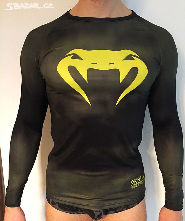 Pánské kompresní tričko design Venum neon - Šlapanice 512c5ef841