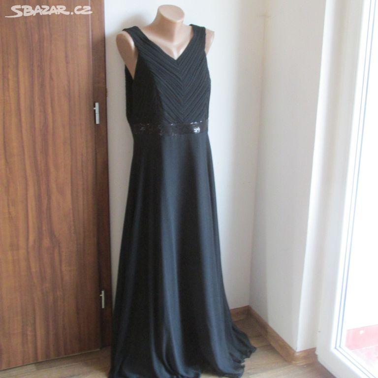Luxusní elegantní společenské šaty EL v42 44 NOVÉ - Loket f9a07290fc