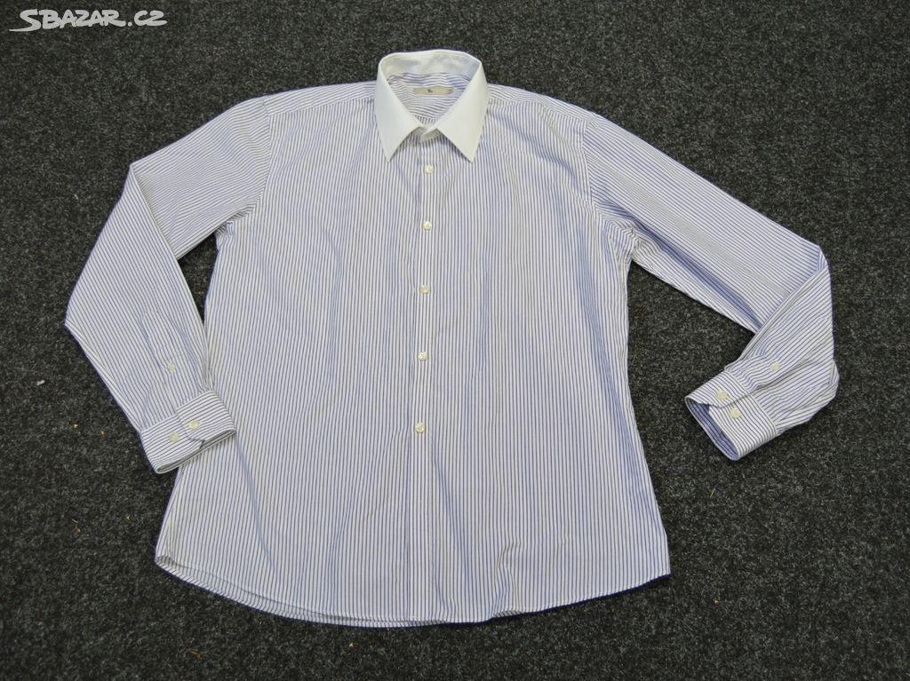 Pánská proužkovaná košile na manžetové knoflíčky - Frýdek-Místek ... 814d7c00ed