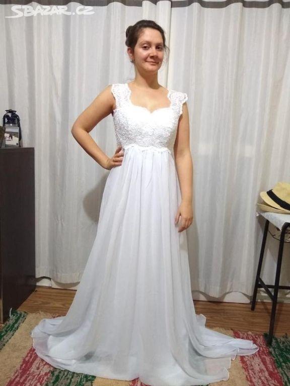 c9fc881d77f9 Nové svatební šaty velikost 34