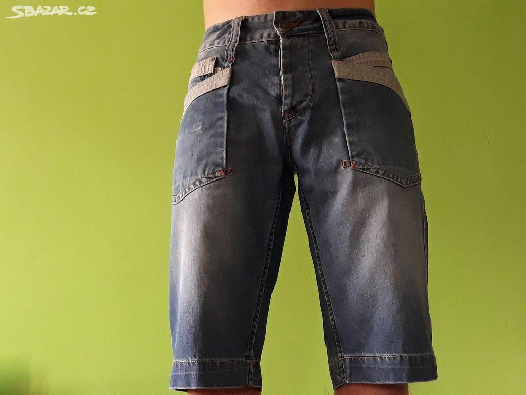 Nabízím pánské jeans kraťasy zn. EXE c535e3be0c