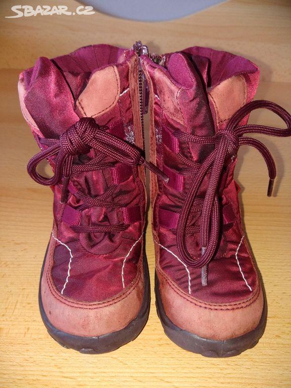 Zimní boty Elefanten pro holčičku - Březová 32e2144595