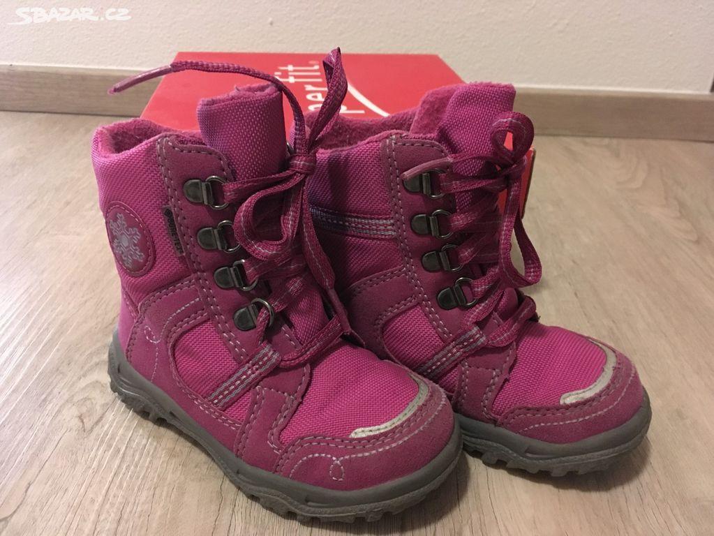 Superfit - zimní holčičí boty vel. 24 - Nepomuk 09143c4d30