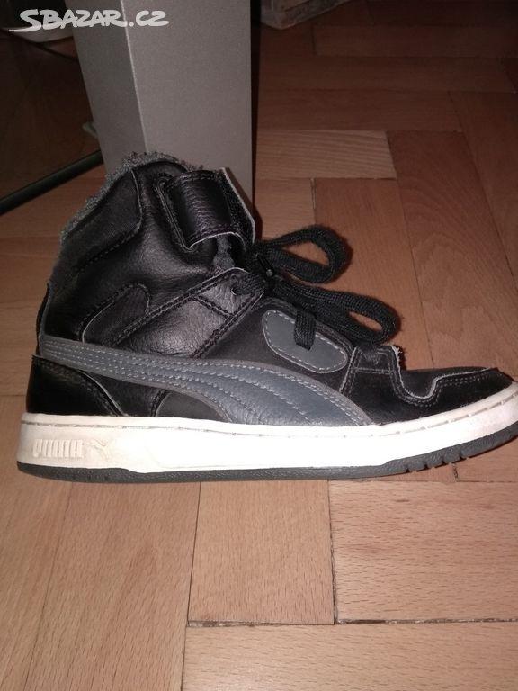 cb912afd70c Dětské zimní boty puma - Kralovice