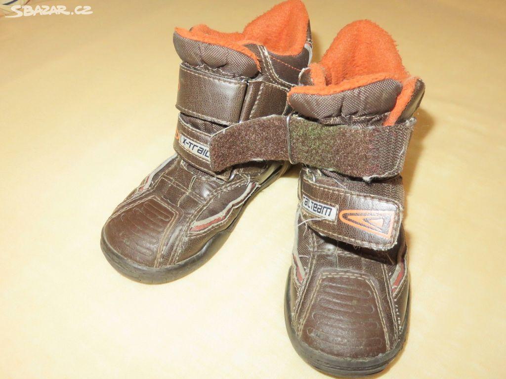 Kožené zimní boty vel. 28 - Orlová b46aa53e74