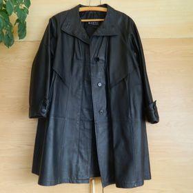 Pánský kožený kabát s kapucí - Jaroměř b325b3745a1