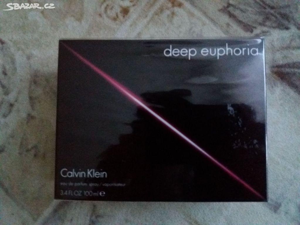 38aa8b5579 Calvin Klein Deep Euphoria EdP 100 ml - Praha - Sbazar.cz