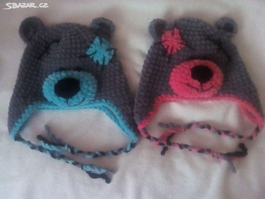 0735a3caa17 dvojčata - zimní čepice