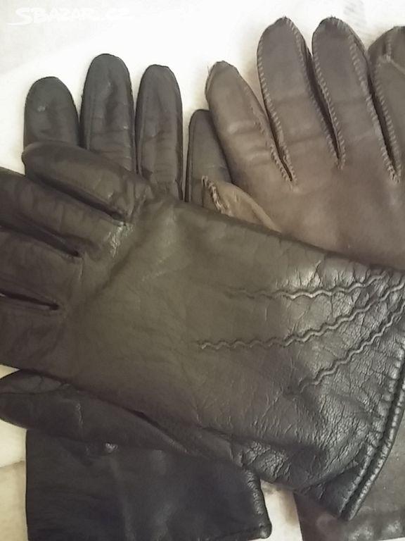 Jemné kožené rukavice s hřejivou vlněnou podšívkou - Ústí nad Labem ... 81b33454f9