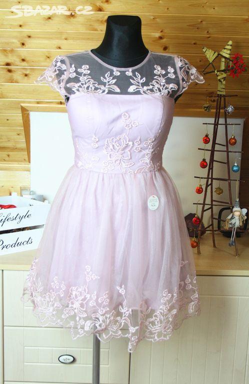 33a09e244284 ChiChi London krajkové šaty vel 40 - Opava - Sbazar.cz