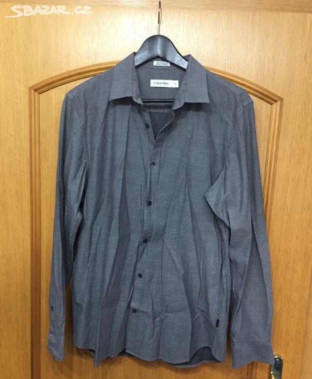 Pánská košile Calvin Klein - Rudolfov 35d46ea00d