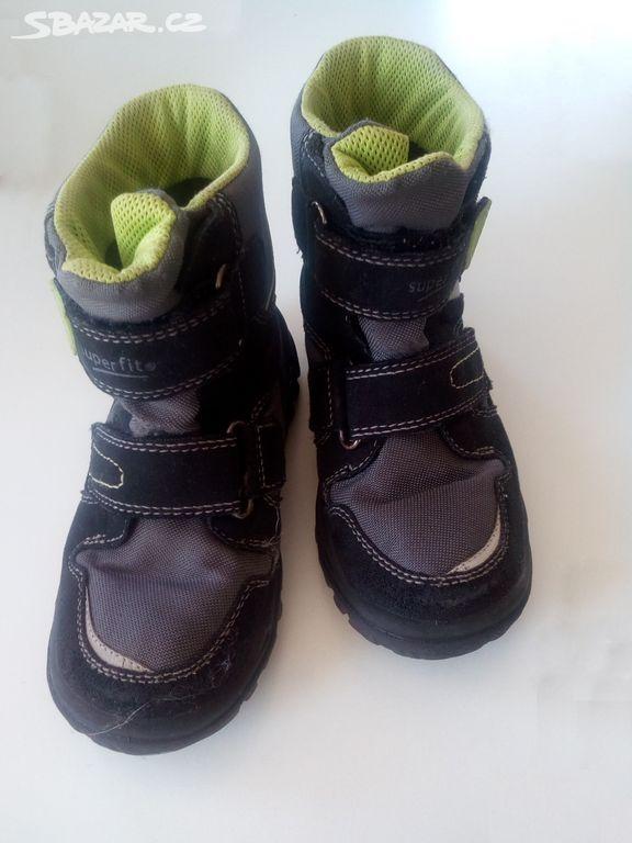 Prodám zimní dětské boty Superfit . - Hlincová Hora 3d971a92b2