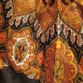 Výpis nabídek. Retro šátek z Itálie kašmírový vzor d7a15c8365