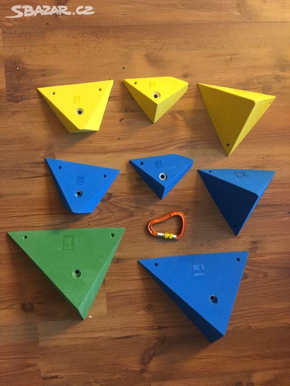 Nové lezecké chyty struktury THEREX Climbing 8kusů - Březová ... 79b03187752