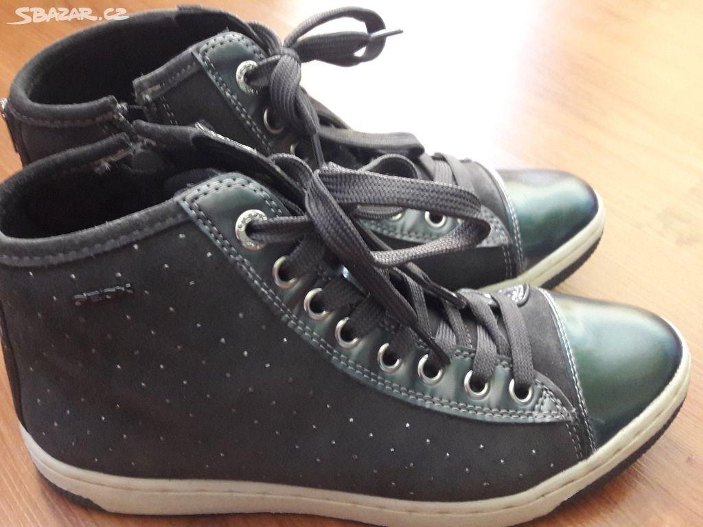 135308949d6 2x nošené boty Geox velikost 38 - Dobříš