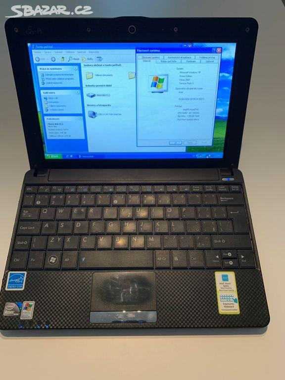 3bb71049a0 Malý notebook ASUS EEE PC 1001PX černý - Zlín - Sbazar.cz