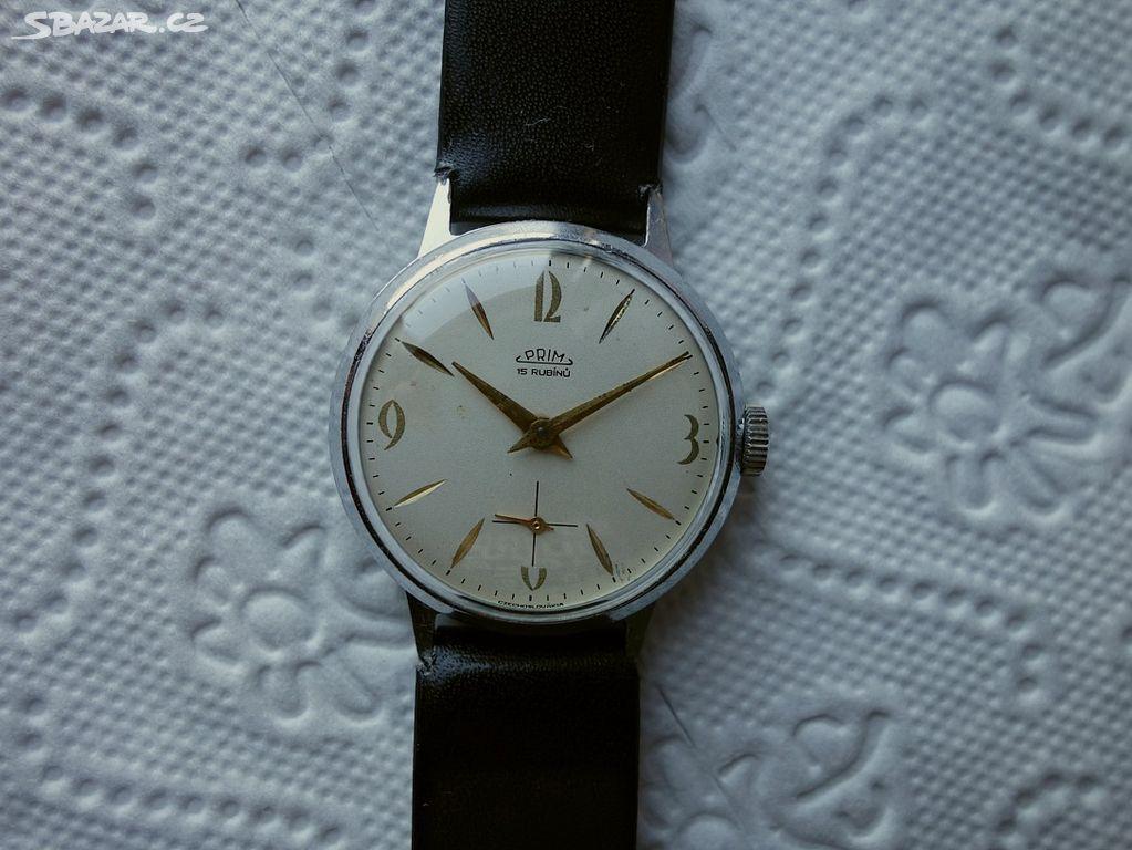 fda76376c Staré,funkční mechanické hodinky Prim-Brusel - Klášterec nad Ohří ...