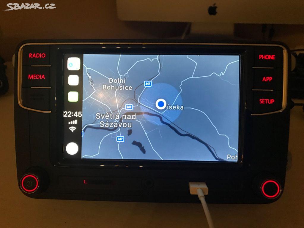 RCD 330+ Carplay,Android auto,Mirrorlink,BTtelefon