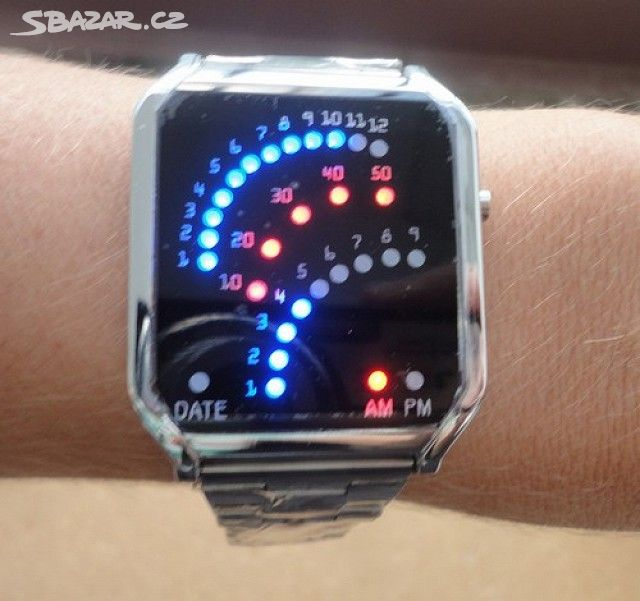 Moderní UNISEX Binární LED hodinky pro muže - Praha - Sbazar.cz 7b4cfda1964