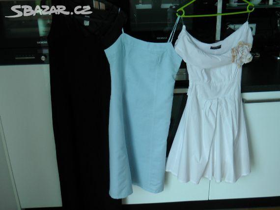 Prodám krásné společenské šaty.Bílé jsou jako - Nučice 97772cfaf9