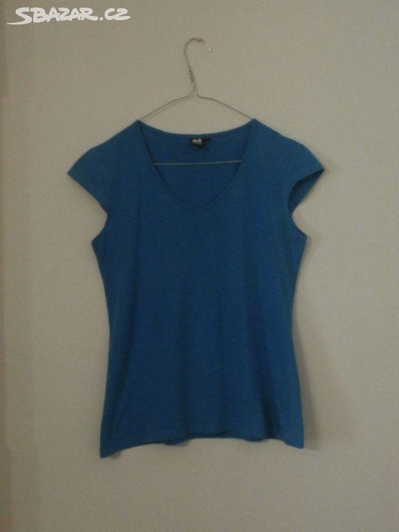Prodám bavlněné modré tričko bez rukávů fadd681aff