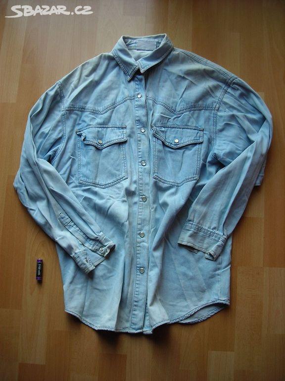 ed339d3585e Dámská riflová košile