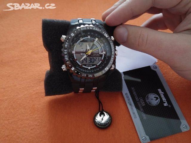 Luxusní hodinky Infantry Army sport - nové - Kladno - Sbazar.cz a2974d7d53