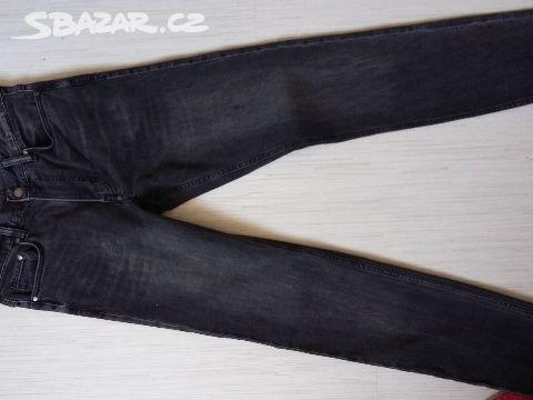 moc pekne cerne jeansy slim - Říčany c0192ed3c8