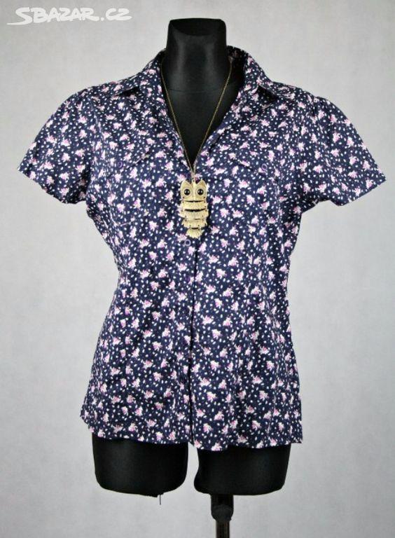 košile se vzorem Košile je lehká f5214cdf2b