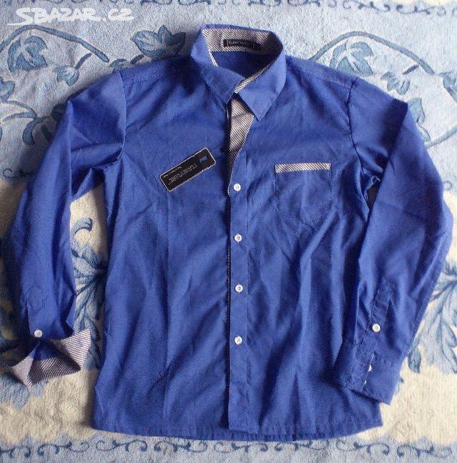 Luxusní pánská košile s proužky - vel. S-4XL - Mikuleč 3e78671669