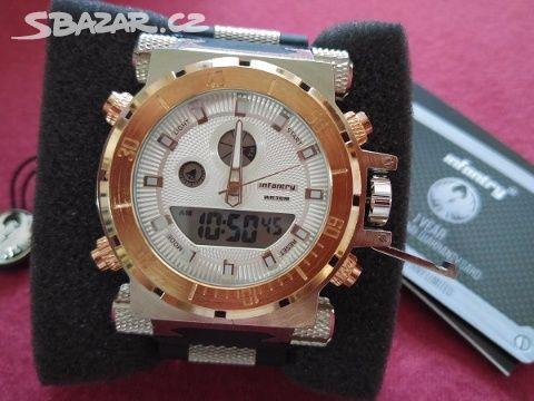 Pánské luxusní hodinky Infantry Army - 2. barvy - Kladno - Sbazar.cz 9f30fd9fdd