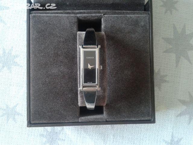Dámské hodinky Gucci G-Line - Plzeň - Sbazar.cz 43b764680f