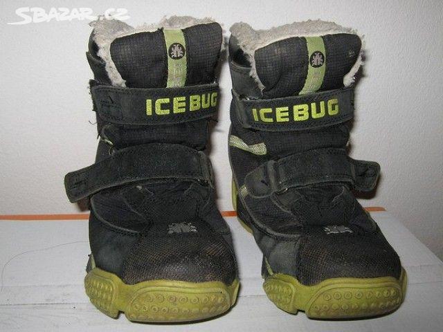 60fbd61b1a1 Dětské zimní boty ICEBUG - Praha - Sbazar.cz