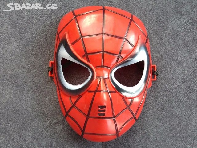 dc63efc5103a Maska Spiderman - nová - Kladno - Sbazar.cz