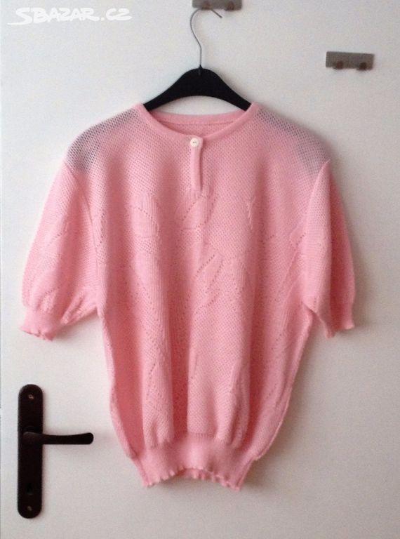 Růžová halenka - Volary 1324f2c8da