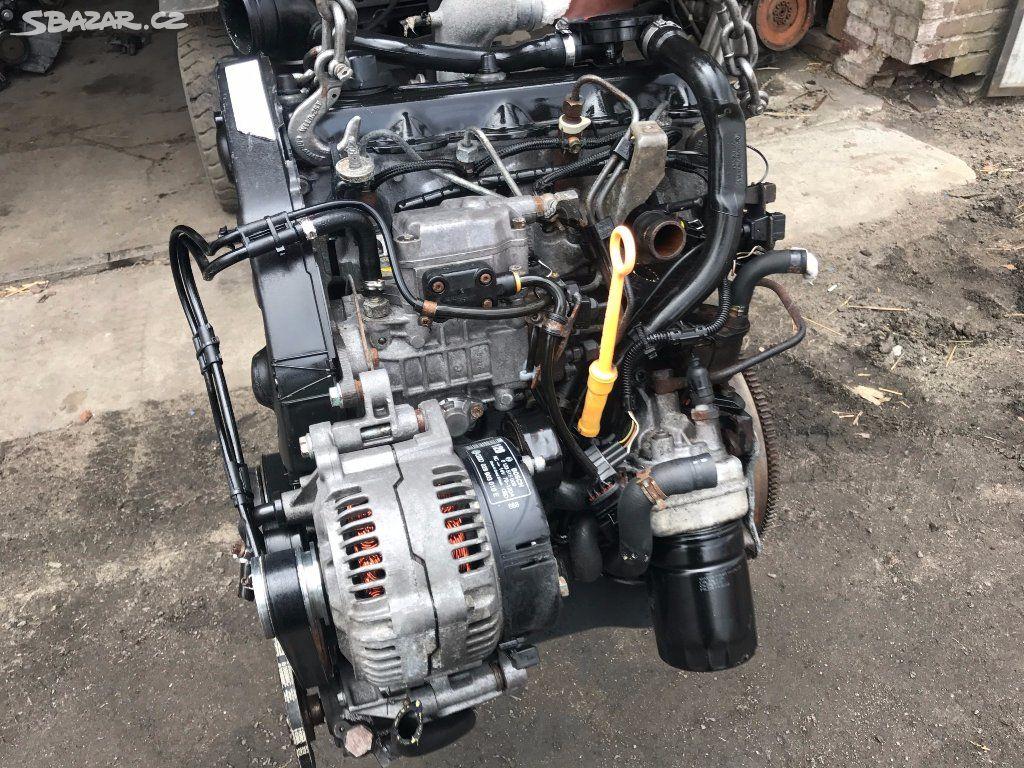 kompletní motor AHU 1 9 tdi Galaxy Vw Sharan - Praha - Sbazar cz