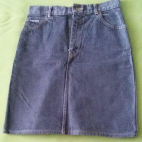 Riflová sukně XL - Bystřice nad Pernštejnem 735d82427b
