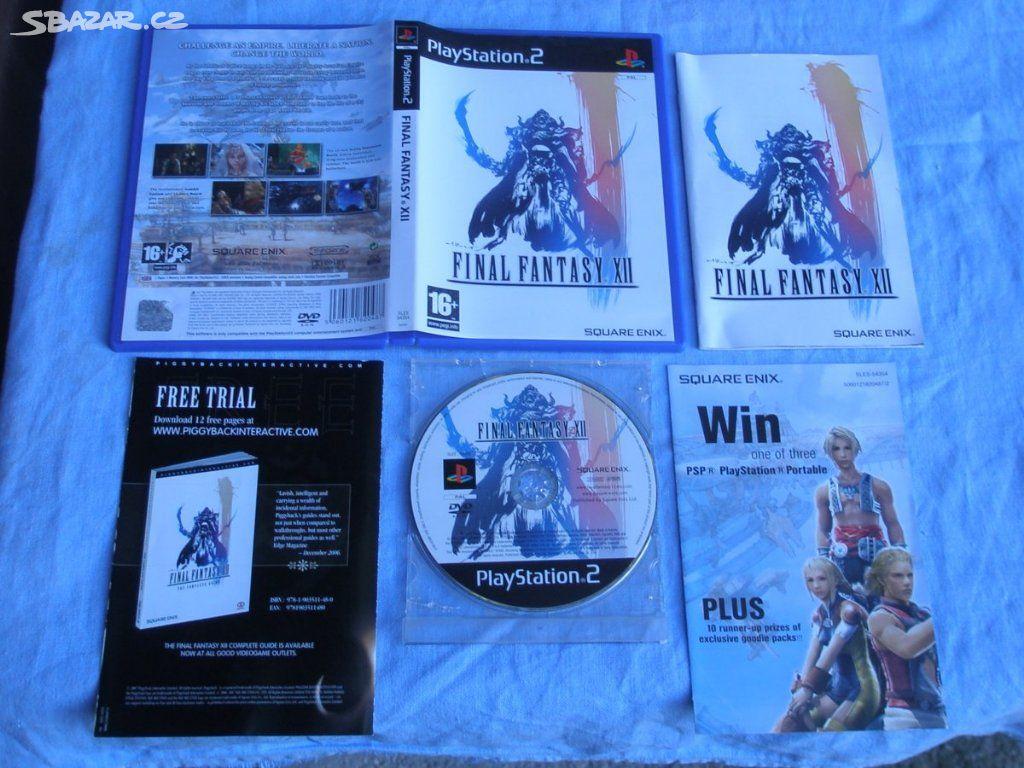 Sony PS2 hra Final Fantasy XII  - Prostějov