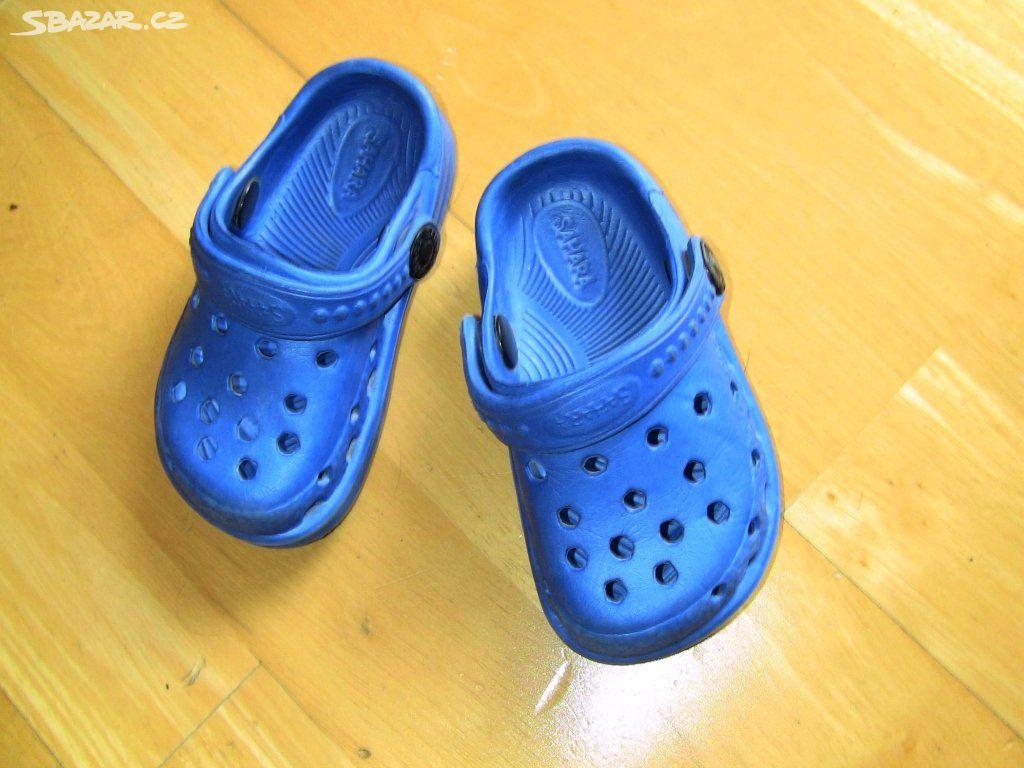 651ec3795b3 Dětské pantofle ve stylu crocs